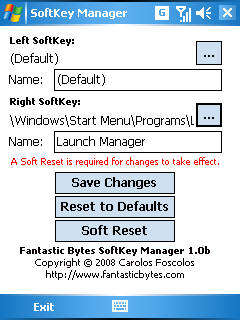 SoftKey Manager ScreenShot